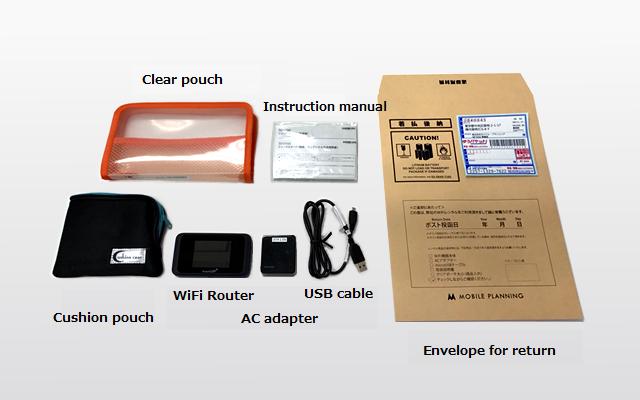 日本国内向け九州WiFiレンタル / SoftBank Rental Pocket WiFi 501HW